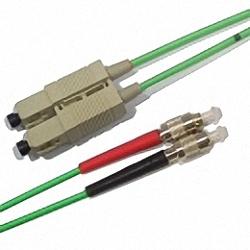 LWL Patchkabel OM3 Multimode 50/125µm, Duplex, SC/PC-FC/PC