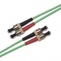 FO Patch Cable OM3 Multi-mode 50/125µm, Duplex, ST/PC-ST/PC