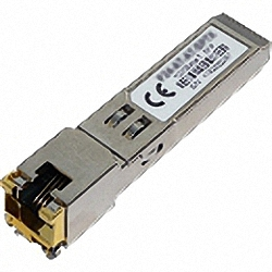 10070H compatible 10/100/1000Base-T SFP Transceiver, industrial temp. -40° bis 85°C, with SGMII