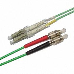 FO Patch Cable OM3 Multi-mode 50/125µm, Duplex, LC/PC-FC/PC