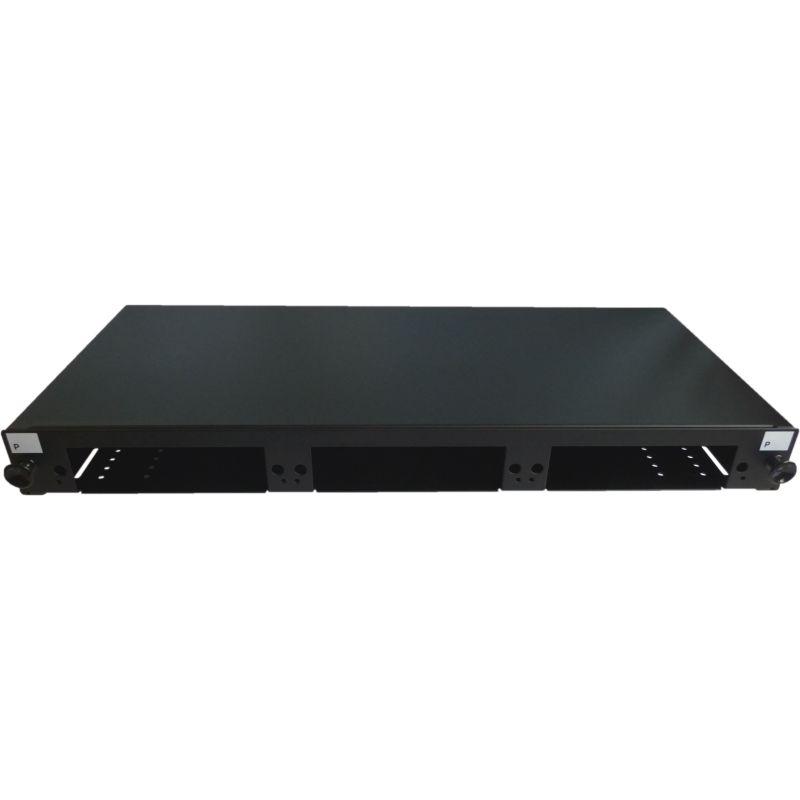 19 Zoll Patchfeld LGX-Style mit 3 Modul-Steckplätzen, ausziehbar