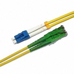 LWL Patchkabel Singlemode, Duplex, LC/PC-E2000/APC