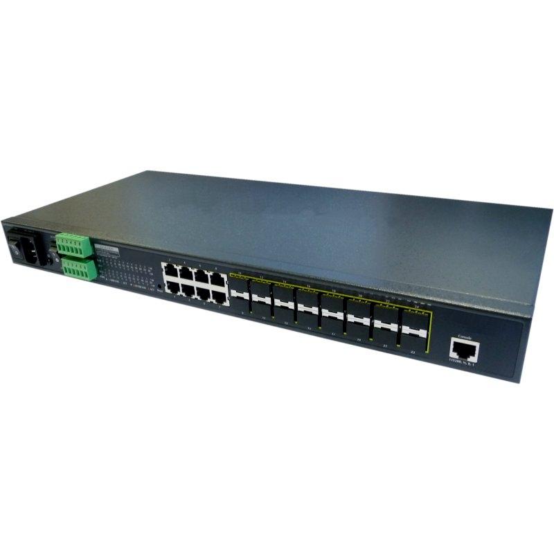 MGSW-24160F GE Switch with 8x RJ45, 16x SFP Port