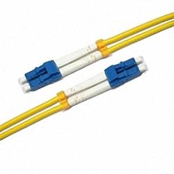 Fiber Optic Patch Cable Single-mode, Duplex, LC/PC-LC/PC