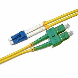 LWL Patchkabel Singlemode, Duplex, LC/PC-SC/APC