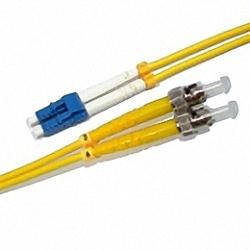 Fiber Optic Patch Cable Single-mode, Duplex, LC/PC-ST/PC