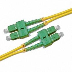 Fiber Optic Patch Cable Single-mode, Duplex, SC/APC-SC/APC