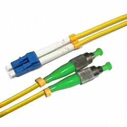 Fiber Optic Patch Cable Single-mode, Duplex, LC/PC-FC/APC