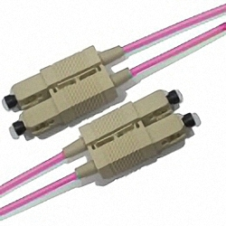 LWL Patchkabel OM4 Multimode 50/125µm, Duplex, SC/PC-SC/PC