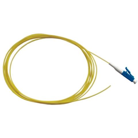 LWL Pigtail, OS2 9/125µm, LC/PC, gelb 2m