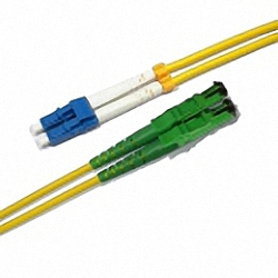 Fiber Optic Patch Cable Low-IL Single-mode, Duplex LC/PC-E2000/APC