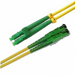 Fiber Optic Patch Cable Low-IL Single-mode, Duplex, LC/APC-E2000/APC