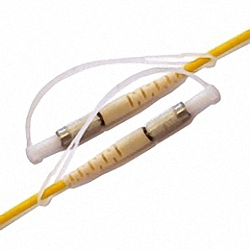 Fiber Optic Patch Cable Single-mode, Simplex, DIN/PC-DIN/PC