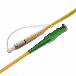 Fiber Optic Patch Cable Single-mode, Simplex, DIN/PC-E2000/APC