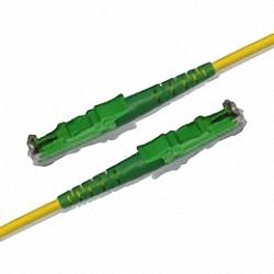 Fiber Optic Patch Cable Single-mode, Simplex, E2000/APC-E2000/APC