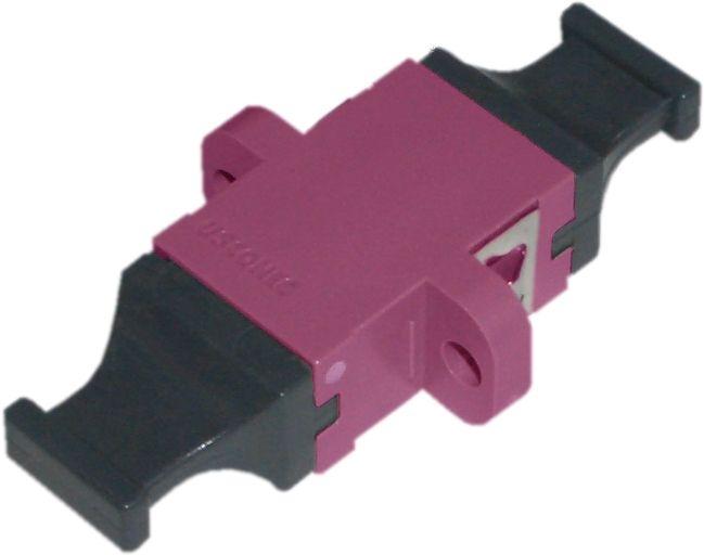US Conec 13773 LWL-Adapter MTP/MPO, OM4, Simplex