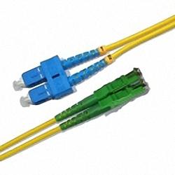 LWL Patchkabel Singlemode, Duplex, SC/PC-E2000/APC