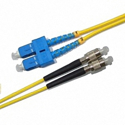 LWL Patchkabel Singlemode, Duplex, SC/PC-FC/PC