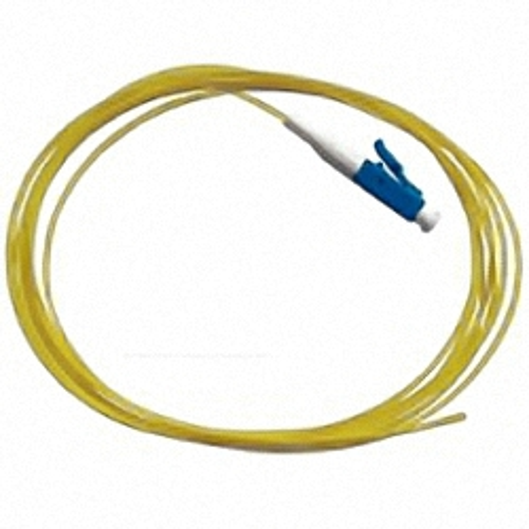 LWL Pigtail, OS2 9/125µm, LC/PC, gelb 1m