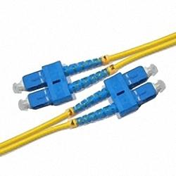 Fiber Optic Patch Cable Single-mode, Duplex, SC/PC-SC/PC