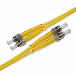 Fiber Optic Patch Cable Single-mode, Duplex, ST/PC-ST/PC
