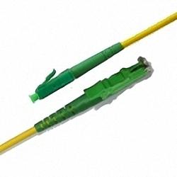 Fiber Optic Patch Cable Single-mode, Simplex, LC/APC-E2000/APC