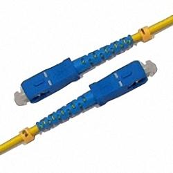 Fiber Optic Patch Cable Single-mode, Simplex, SC/PC-SC/PC