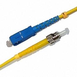Fiber Optic Patch Cable Single-mode, Simplex, SC/PC-ST/PC