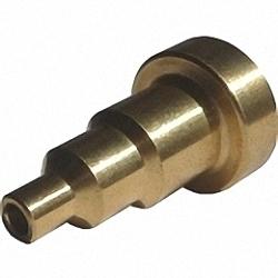 HUXScope-Tip HUXScope 2.5mm PC Male-Tip Adapter für Fasermikroskop