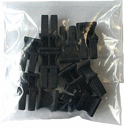 Dust Caps for SFP/SFP+/XFP Modules, with Handle, 10pcs.