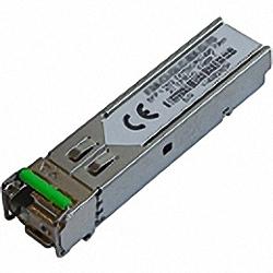 SFP-1G40BLC-T compatible Bi-Di SM 40km TX1550nm, RX1310nm SFP Transceiver, Industrial Temperature -40° bis 85°C