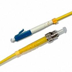 Fiber Optic Patch Cable Single-mode, Simplex, LC/PC-ST/PC