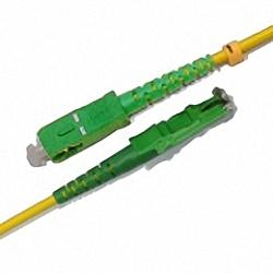 Fiber Optic Patch Cable Single-mode, Simplex, SC/APC-E2000/APC