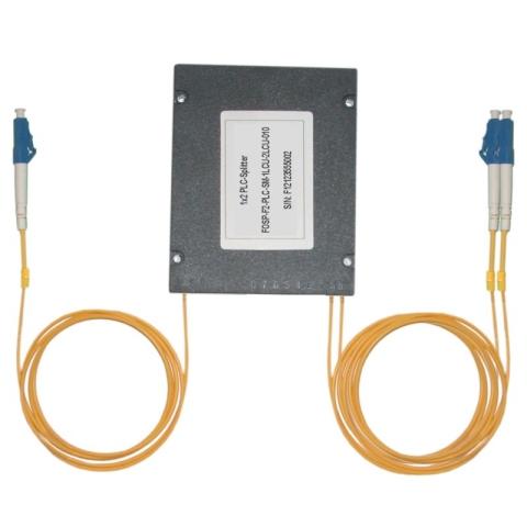 Fiber Optic PLC Splitter LC/PC - 2x LC/PC