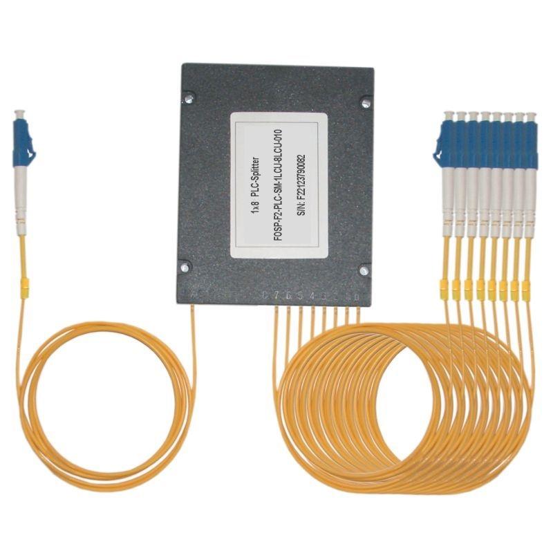 Fiber Optic PLC Splitter LC/PC - 8x LC/PC