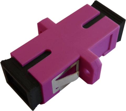 Fiber Adaptor SC/PC, Simplex, Multi-mode OM4