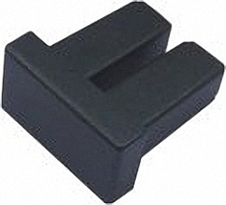 Dust Caps for SFP/SFP+/XFP Modules, small, 100pcs. Bulk Pack