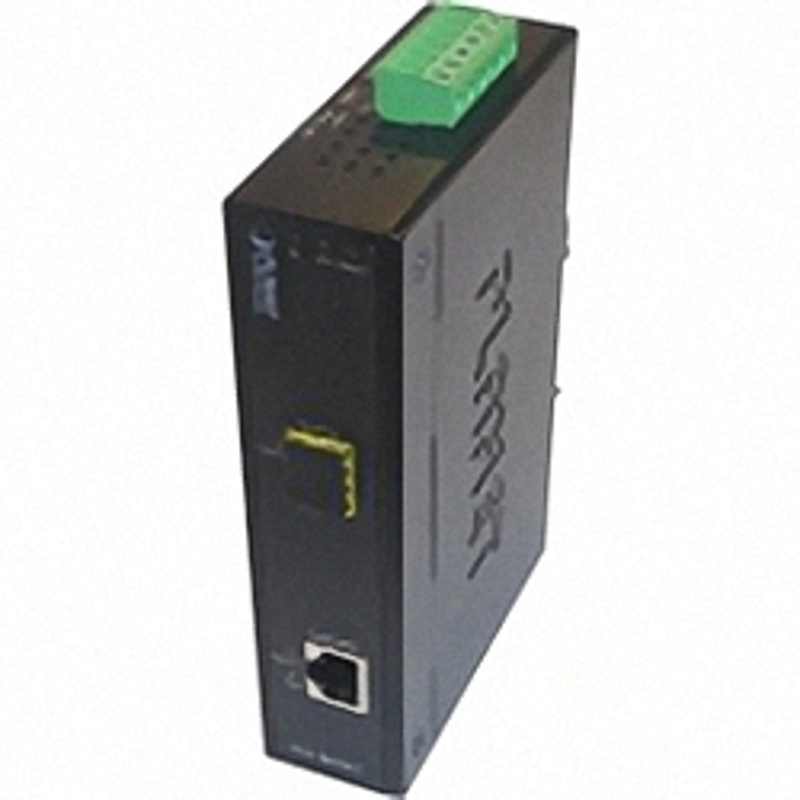 IGT-805AT Industrieller Hutschienen GE Konverter 10/100/1000Base-T und 100/1000Base-X