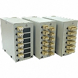 Demarcation Box for DIN Rail, loaded