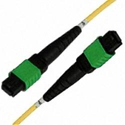 MTP/MPO Trunk Cable SM 12-Core MTP (Female) to MTP (Female), Polarity Type B, Premium Elite