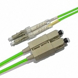 FO Patch Cable OM5 Multi-mode 50/125µm, Duplex, LC/PC-SC/PC
