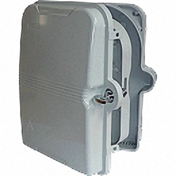 Lockable Wall Box for Indoor and Outdoor for up to 48 adaptors