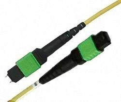 MTP/MPO Trunk Cable SM 12-Core MTP (female) to MTP (male), Polarity Type A, Premium Elite