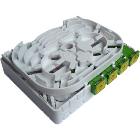 FTTH Wand-Box mit SC/APC Adaptern