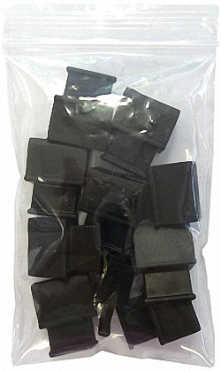 Schutzcover für ungenutzte QSFP und XFP-Slots, mit Griff, 10 Stück