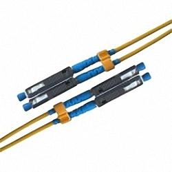 Fiber Optic Patch Cable Single-mode, Duplex, MU/PC-MU/PC