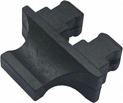 Dust Caps for SC duplex Connector Jack, 100pcs. Bulk Pack