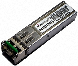 F413S17415-D 1.25 Gbit/s 80km SM 1550nm ZX SFP Transceiver