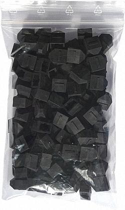 Dust Caps for MTP Connectors, 100pcs. Bulk Pack