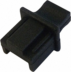 Dust Caps for RJ45 Connector Jack, with Handle, 100pcs. Bulk Pack